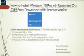 Windows 10 Pro VL X64 incl Office 2019 MULTi-23 DEC 2019 {Gen2}