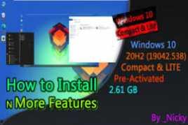 Windows 10 20H2 Ultra Lite X (32 Bits)
