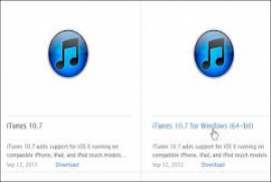 iTunes 10.7.0.21 Windows 64-bit