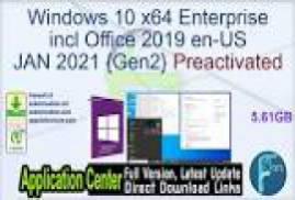 Windows 10 X64 20H2 Enterprise ESD en-US JAN 2021 {Gen2}