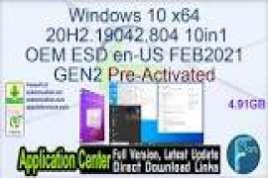 Windows 10 X64 20H2 10in1 OEM ESD en-US MARCH 2021 {Gen2}